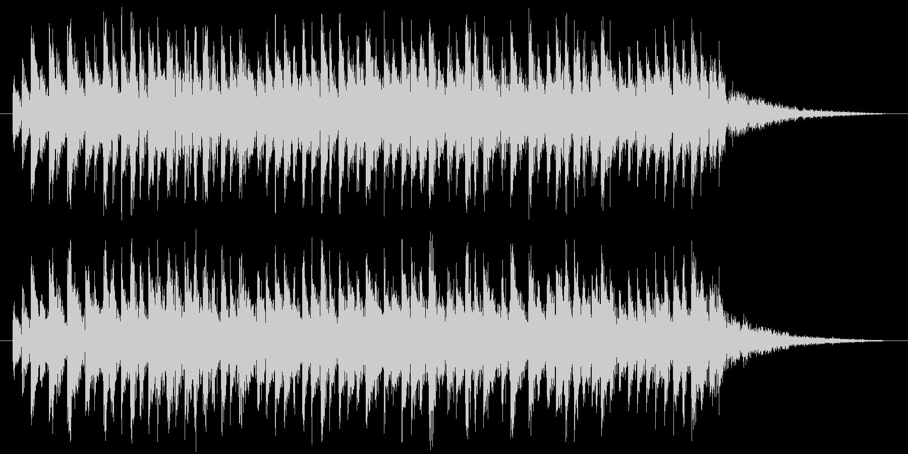 混乱(電子的)の未再生の波形