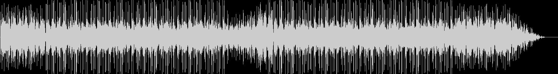メロウでスペイシーなインストヒップホップの未再生の波形