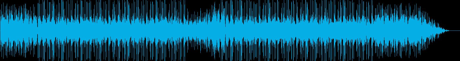 メロウでスペイシーなインストヒップホップの再生済みの波形