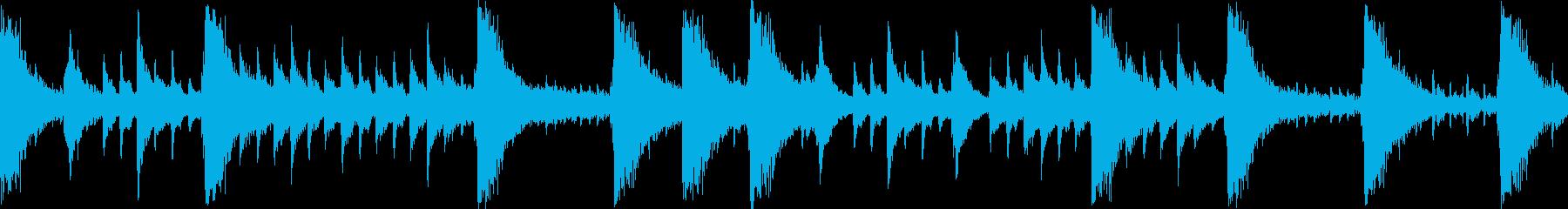 お城でのちょっとした出来事のバックBGMの再生済みの波形
