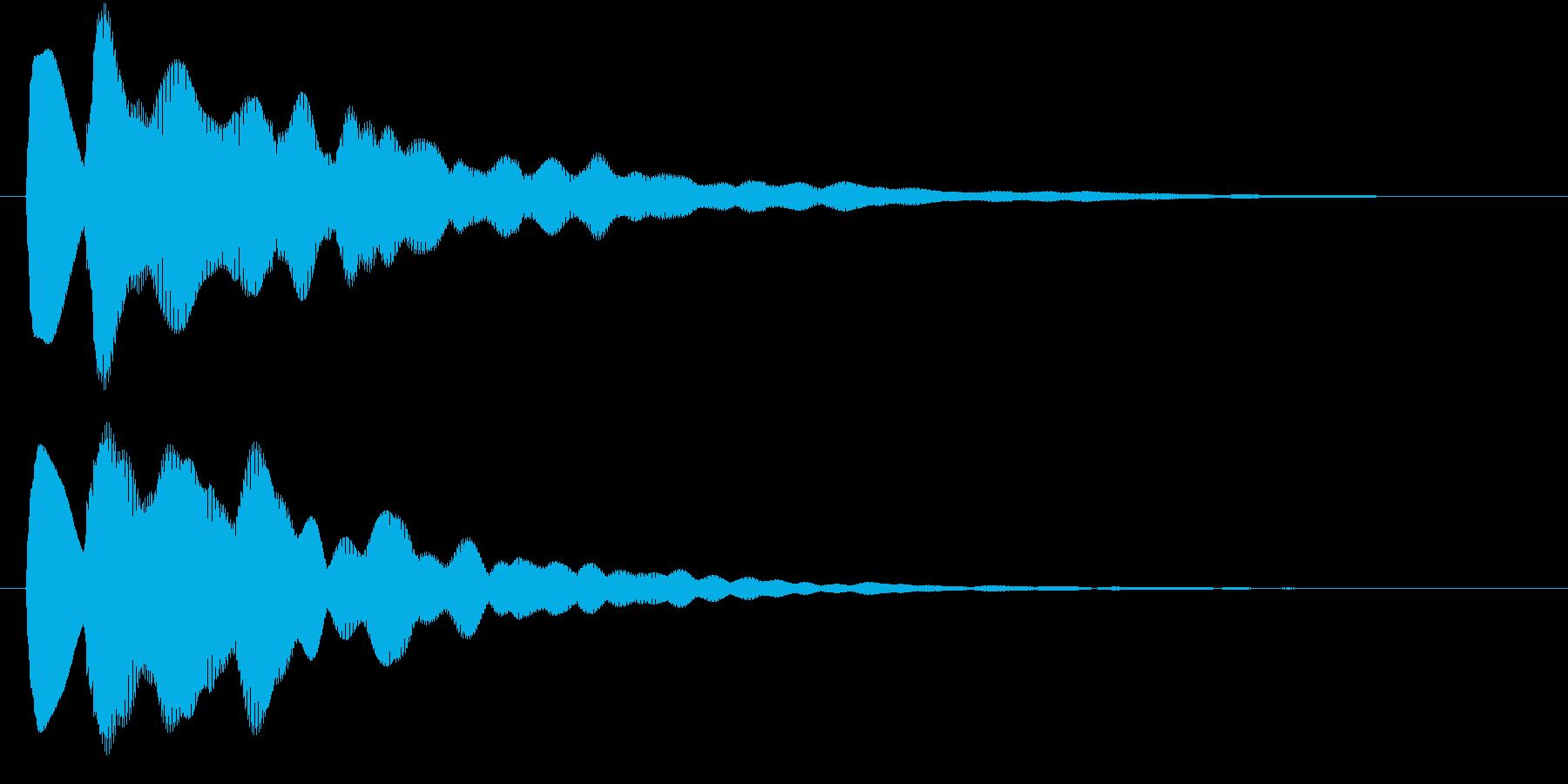 キラーン(ひらめき・アイテム発見・獲得)の再生済みの波形