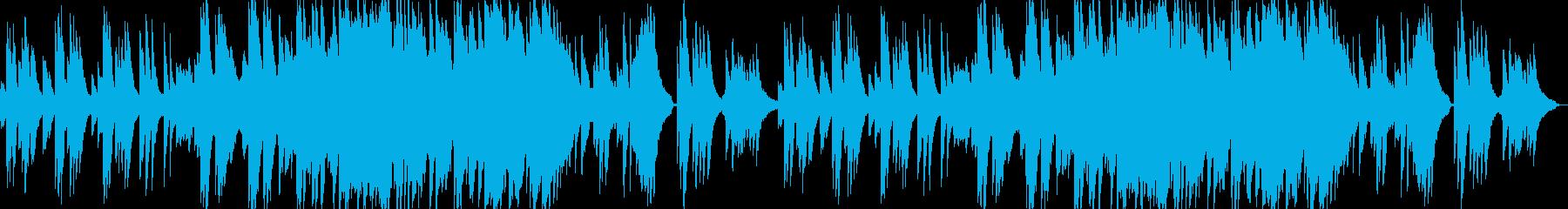 感動的できれいなピアノバラードの再生済みの波形