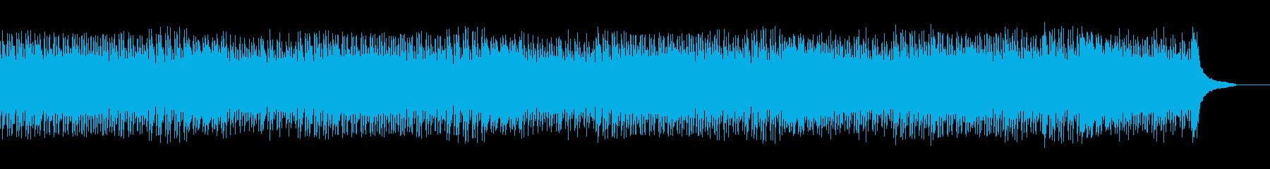 企業VPに!感動的で幸せなピアノソロの再生済みの波形