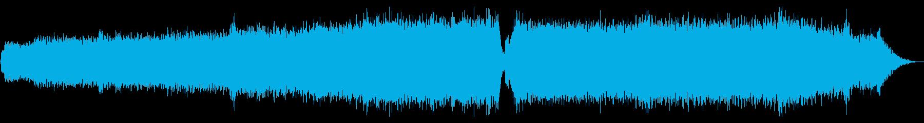 澄み渡る青空_スネアなしの再生済みの波形