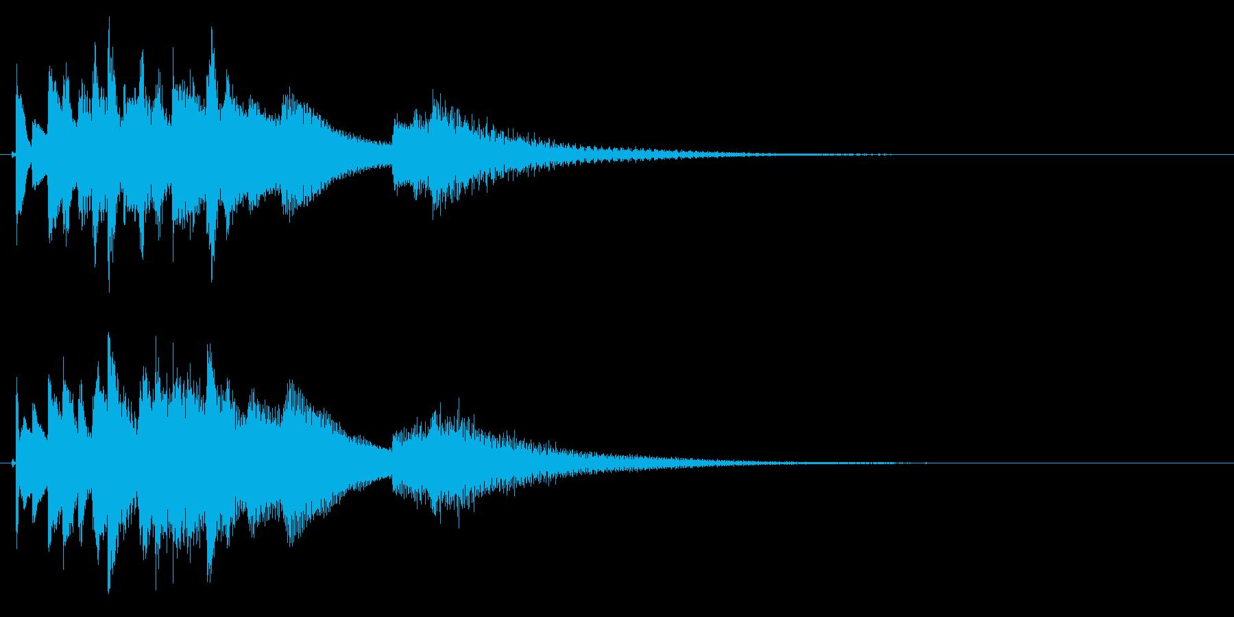 琴のフレーズ4☆調律1の再生済みの波形