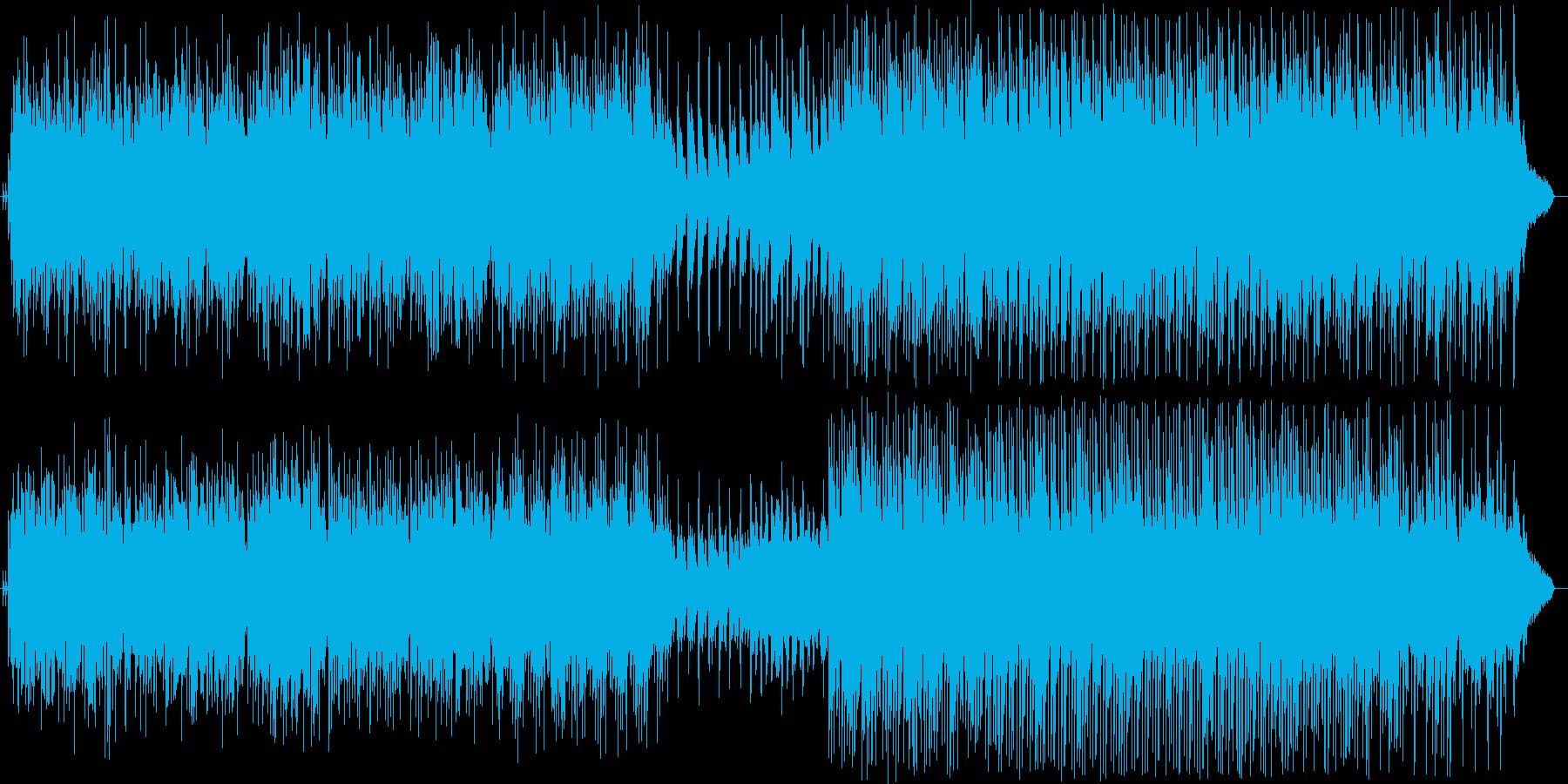 ほのぼのの再生済みの波形