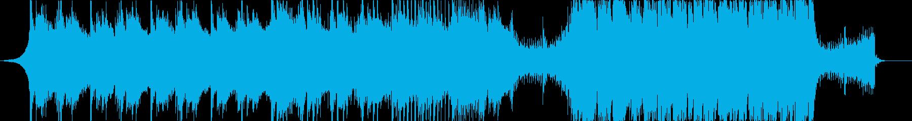 企業VP Future Bass・神秘的の再生済みの波形