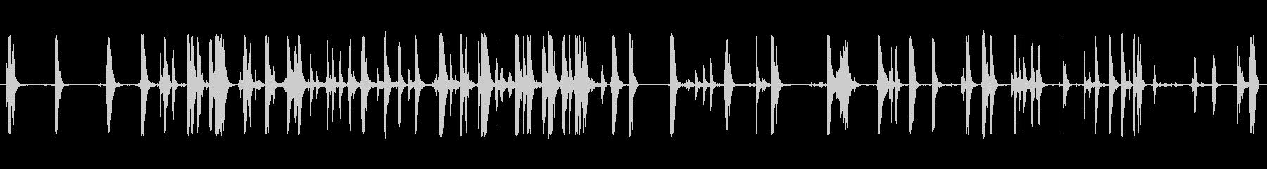 ウッド・オン・メタル、ハード、ボデ...の未再生の波形