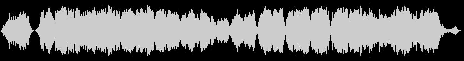 悲しく神秘的な曲の未再生の波形