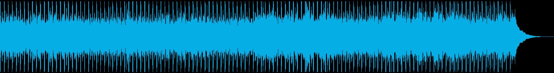 マーケティングビデオ(中)の再生済みの波形