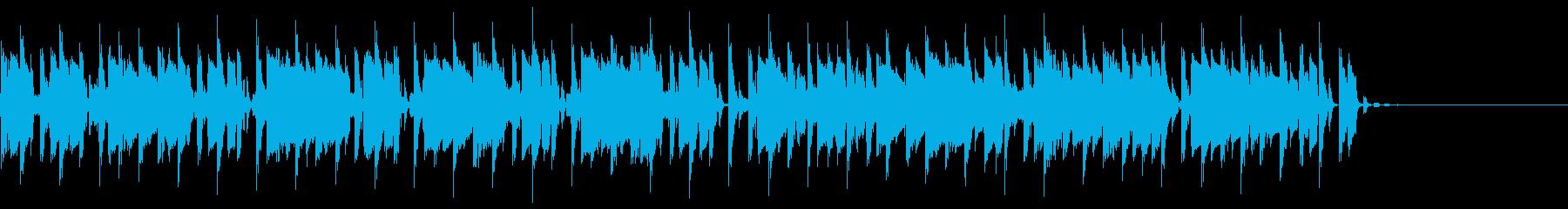 いたずらっぽくてカンピーな音色のグ...の再生済みの波形