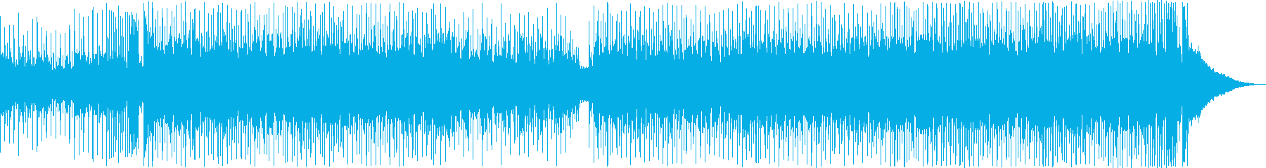 夏、海、夕日、少し切ないトロピカルハウスの再生済みの波形