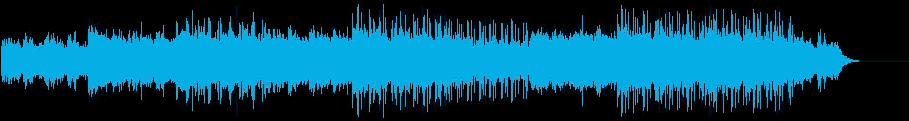 冬の夜を想起させるCill musicの再生済みの波形