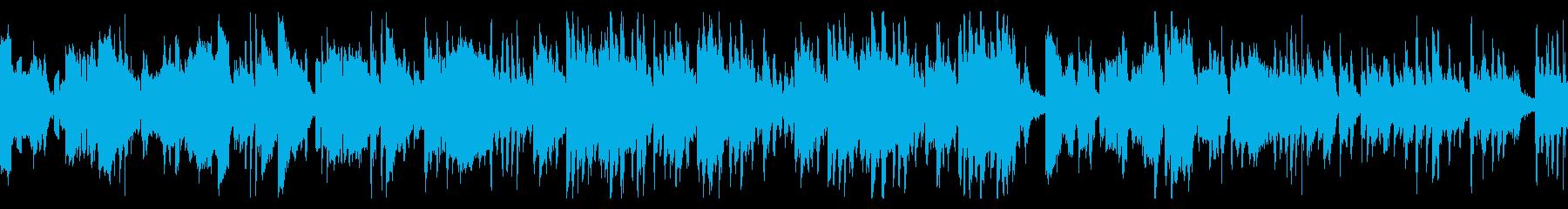 和やかな日常系バラードの再生済みの波形