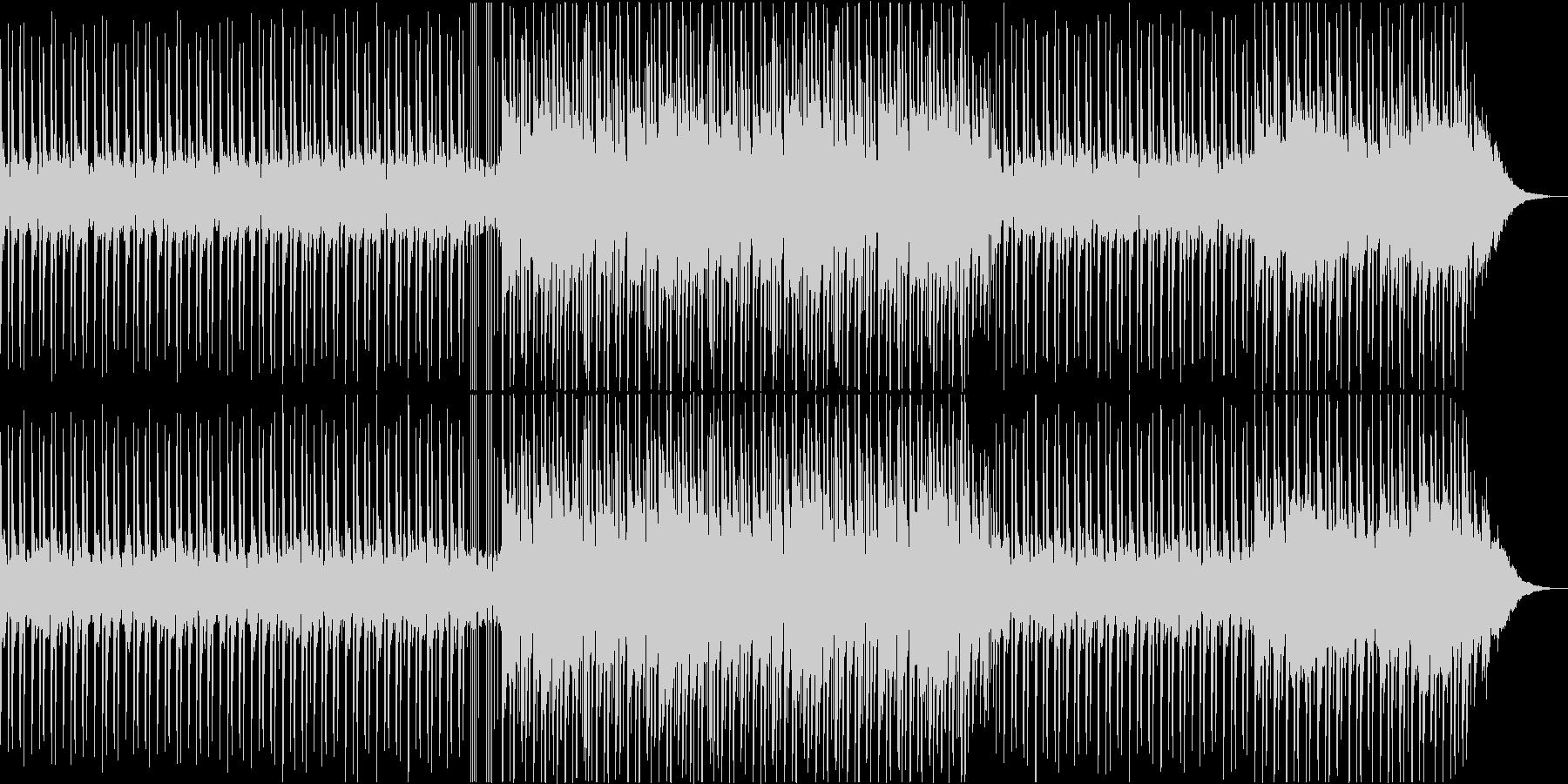☆幻想的空間☆を演出するBGMの未再生の波形