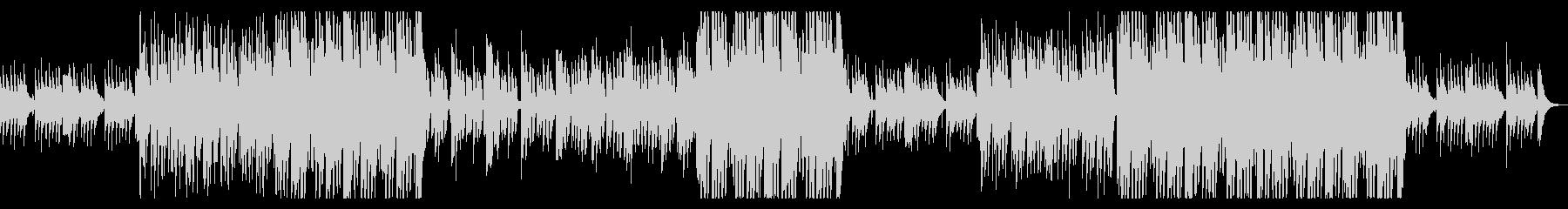 切ない洋楽風のシンセポップな曲の未再生の波形