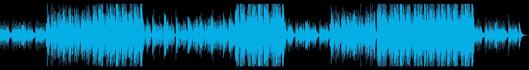 切ない洋楽風のシンセポップな曲の再生済みの波形