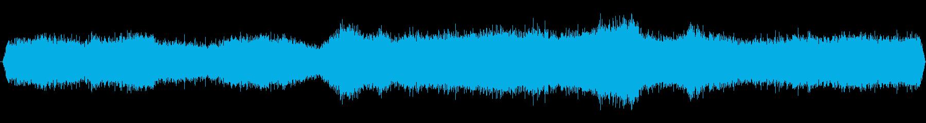 激しい波音(白米千枚田付近)の再生済みの波形