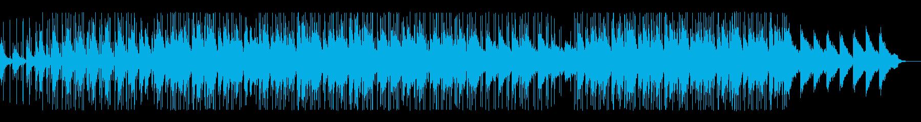 哀愁のあるLoFi HipHopの再生済みの波形