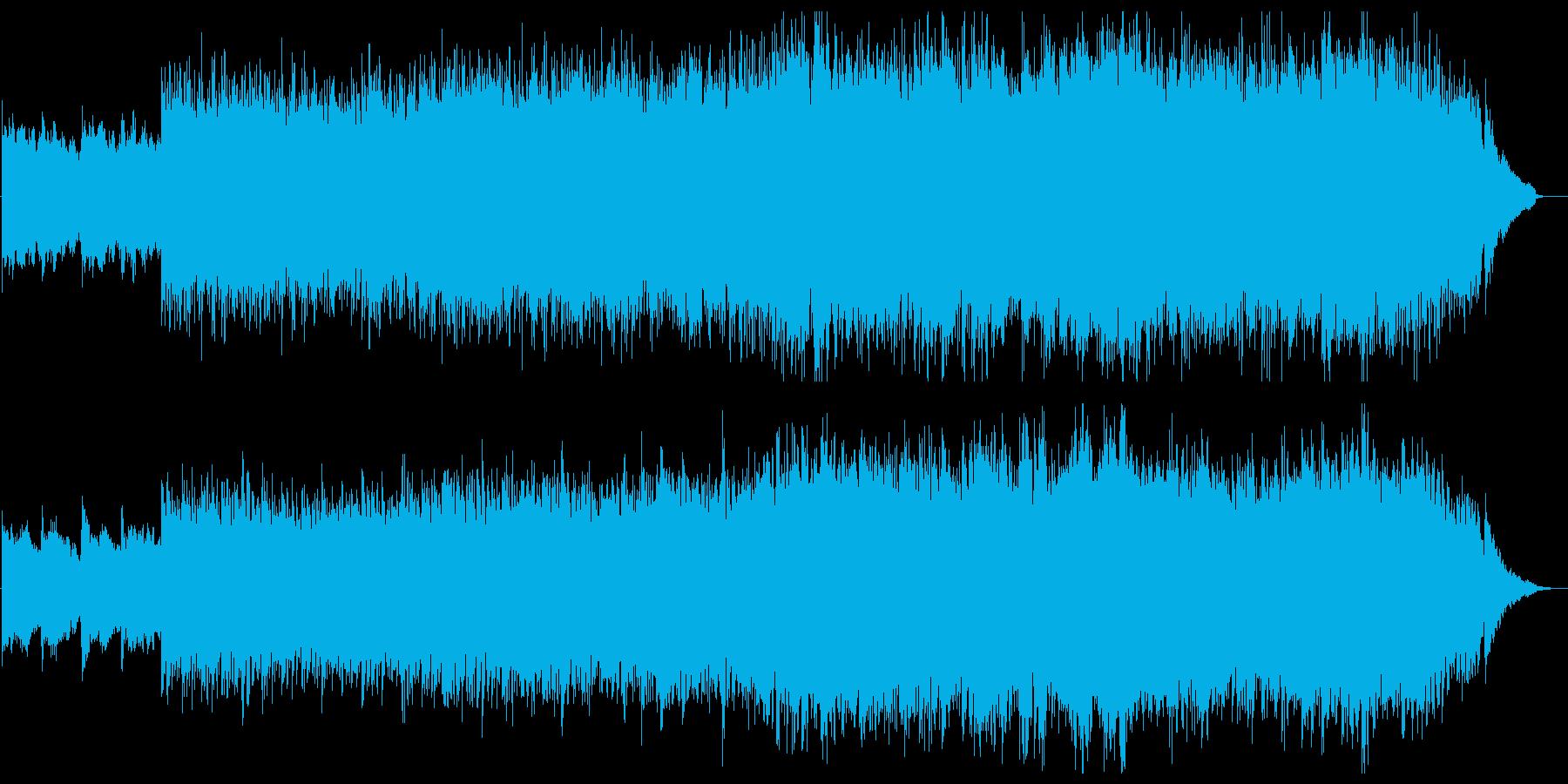 広がる感動・ピアノ&ストリングス・空撮の再生済みの波形