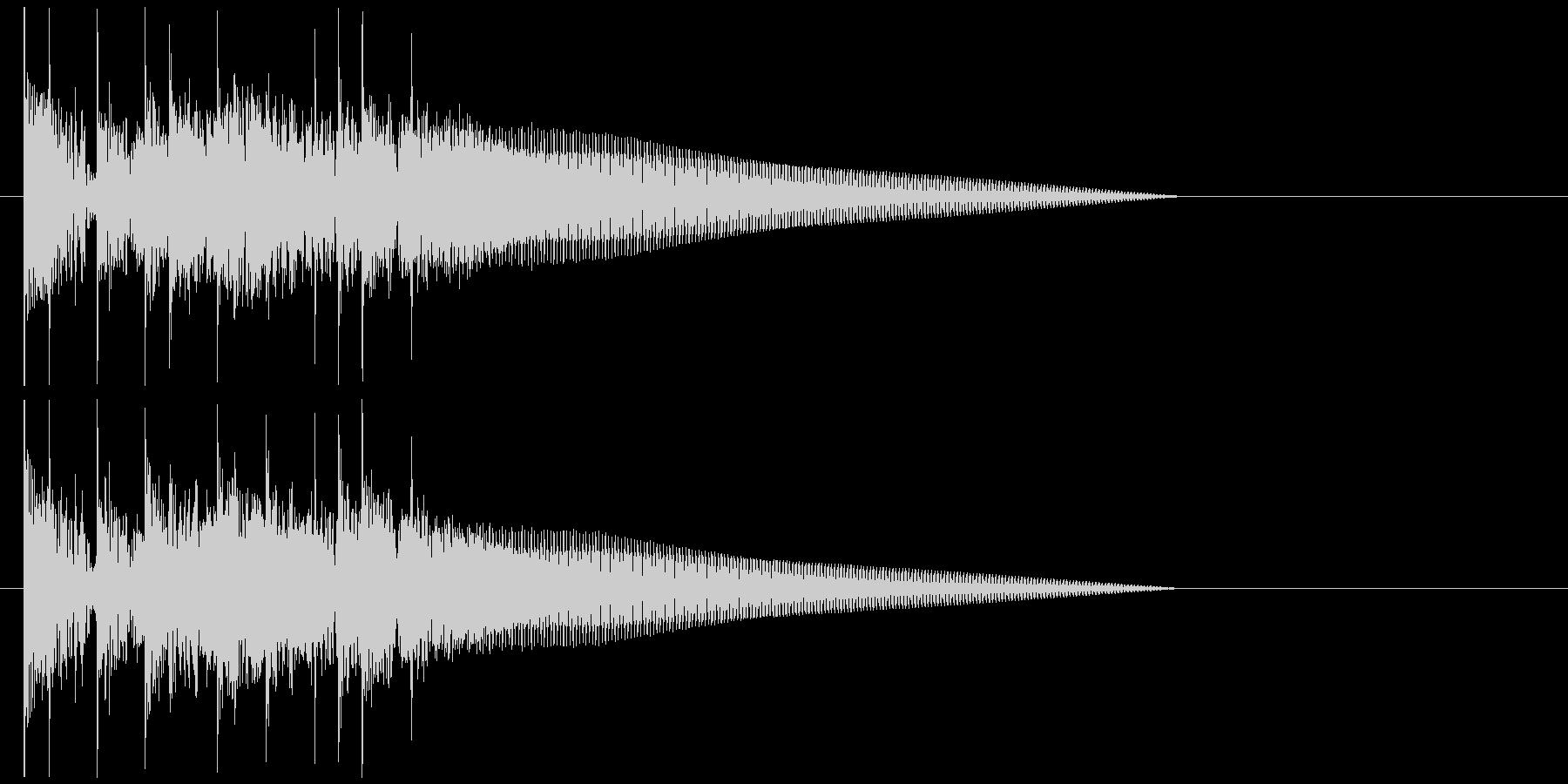 ドラム ベース シンプル 場面転換 5の未再生の波形