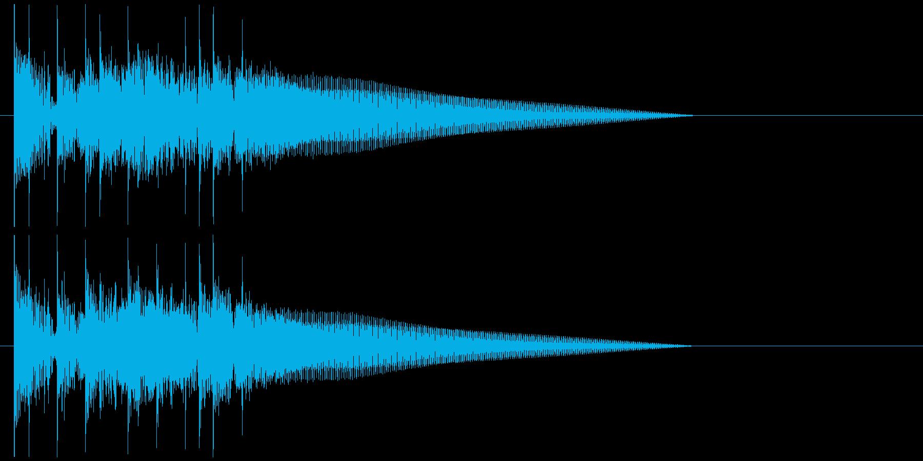 ドラム ベース シンプル 場面転換 5の再生済みの波形
