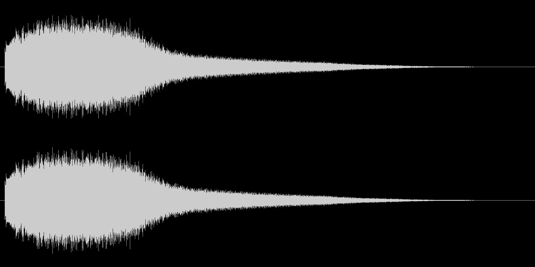機械 アトナルリズムライザーショート01の未再生の波形
