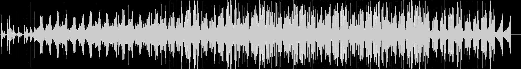 Lo-Fiな感じのエレクトロニカの未再生の波形