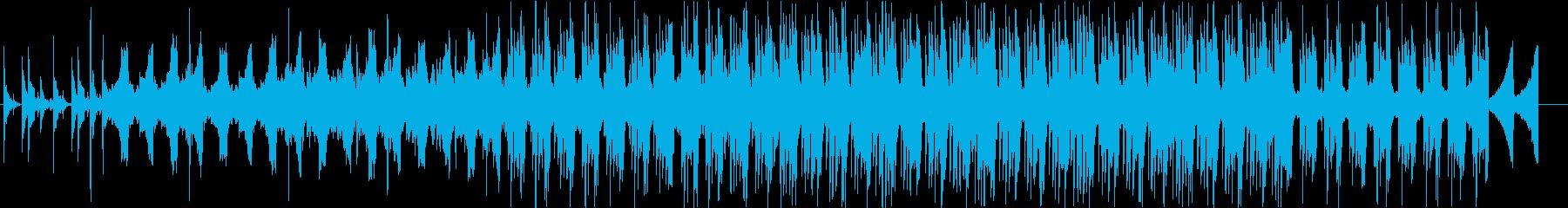 Lo-Fiな感じのエレクトロニカの再生済みの波形