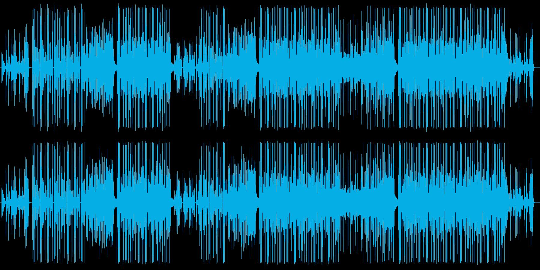 K-POP系Kawaiiポップトラック♫の再生済みの波形