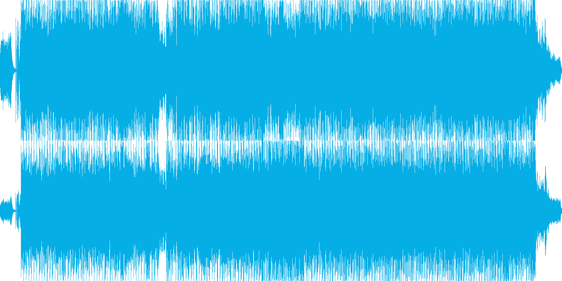 さくらさくら/テクノアレンジの再生済みの波形
