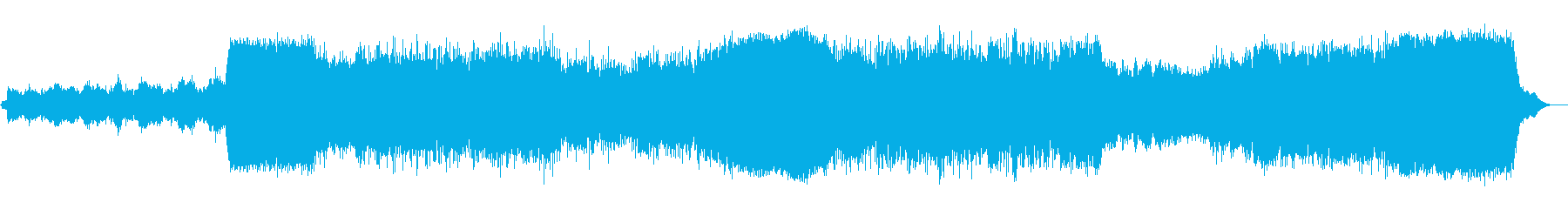 いくつかのムード/シーンの変化で構...の再生済みの波形
