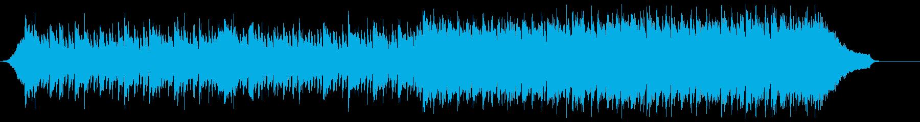 企業VP映像、108オーケストラ、爽快bの再生済みの波形