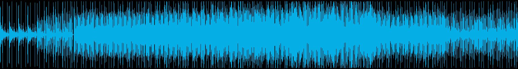 ほのぼのした雰囲気のポップス(ループ)の再生済みの波形