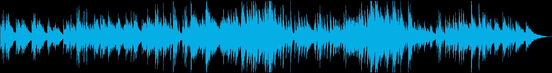 優しい日常 スイング・ジャズ風ピアノソロの再生済みの波形