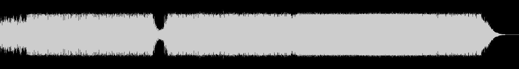 bpm183不気味なドラムンベースの未再生の波形