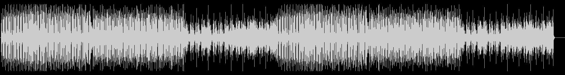 トロピカルフルーツのような元気で明るい曲の未再生の波形
