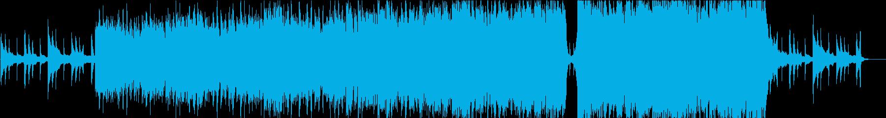 ピアノとストリングスが印象的、映像向けの再生済みの波形