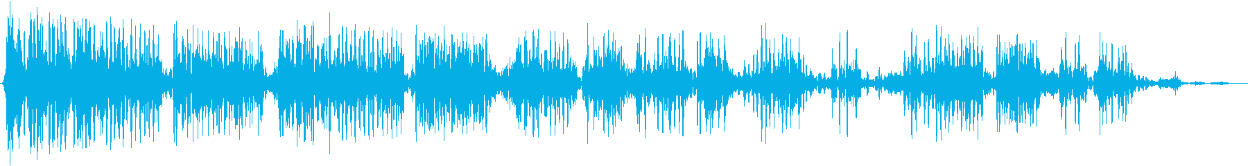 弱々しい成長の邪悪な&超自然的な声の再生済みの波形