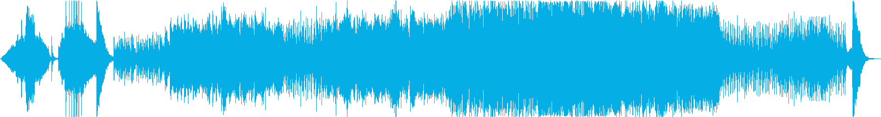Japanese-style BGM for festivals and folklore's reproduced waveform