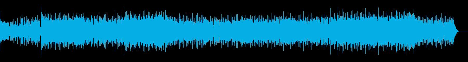 Popで可愛いテンポ早めの楽曲の再生済みの波形
