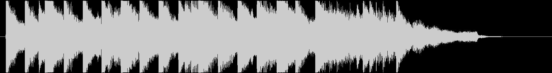 ピアノ/ジングル/サスペンス/緊迫の未再生の波形