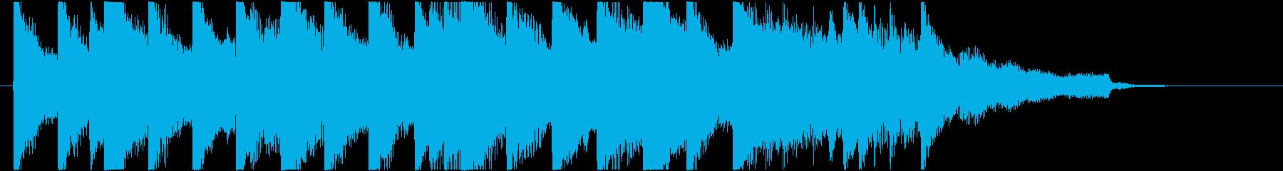 ピアノ/ジングル/サスペンス/緊迫の再生済みの波形