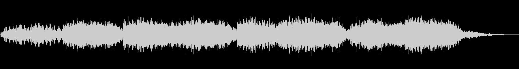 ピアノとストリングスの切ない音楽の未再生の波形
