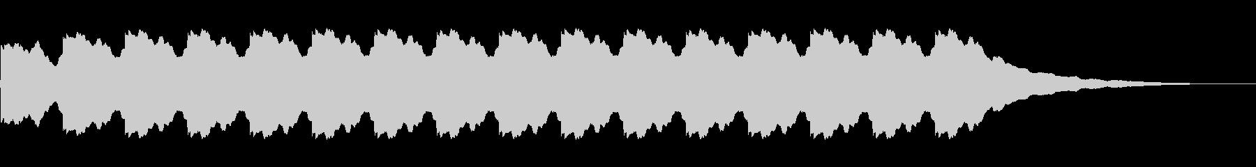 電子ベル警告アラーム:常時、非常に残響の未再生の波形