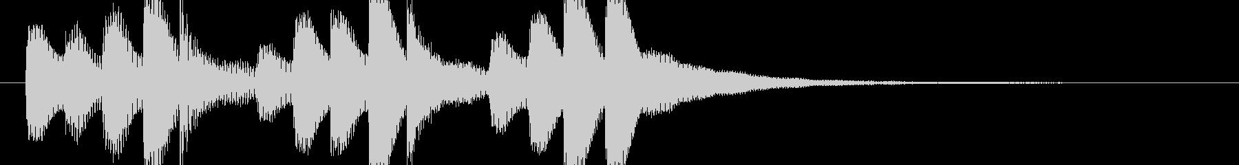 ドラム/ティンバレス フィルイン 2の未再生の波形