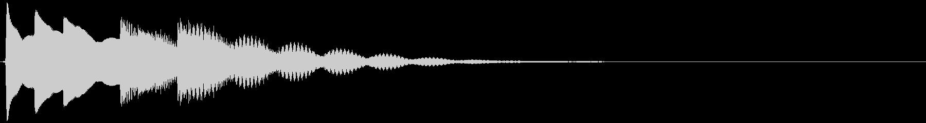 ティロリンティントーン(気付き、発見)の未再生の波形