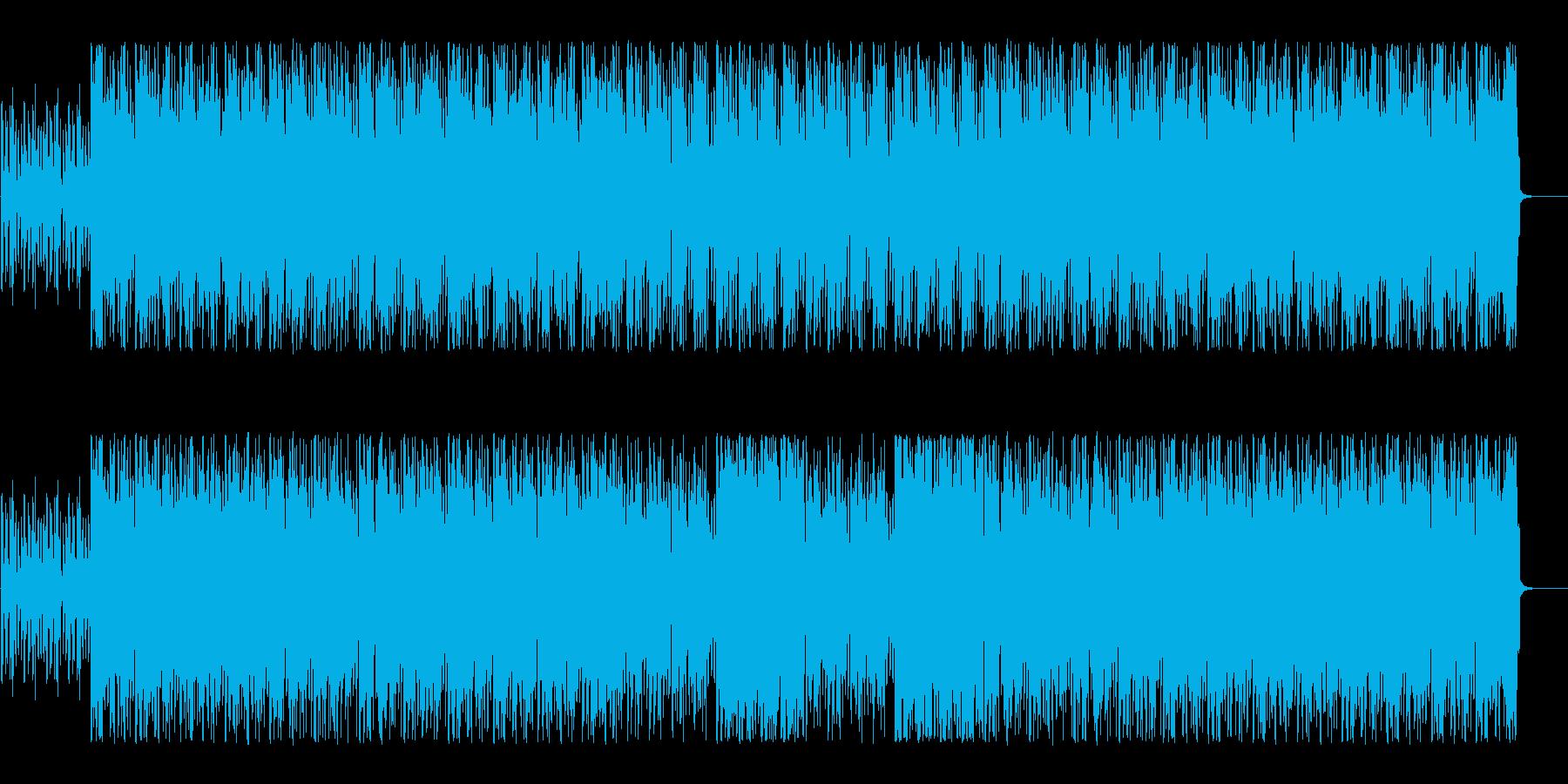 ガムラン等による奇異なケルト音楽の再生済みの波形