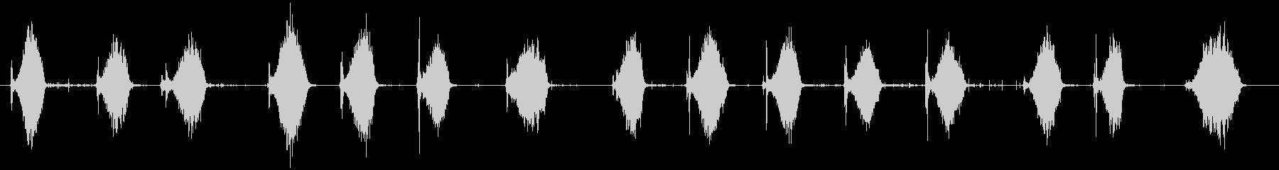 押しほうき:Ext:スイープ、ノー...の未再生の波形