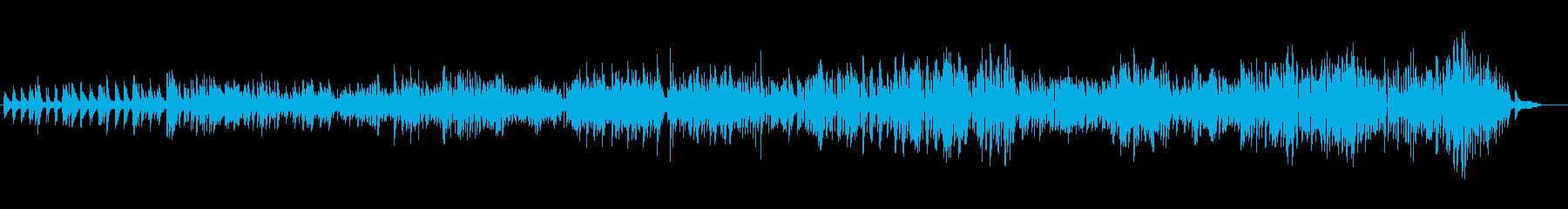 清々しく軽やかな生ピアノソロの再生済みの波形